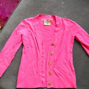 Tory Burch Shirts & Tops - Tory Burch kids S pink sweater/cardigan